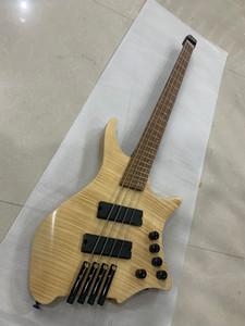 Новый Strandberg Bass Prog 4 String Electric Bass Guitar в Natural 20200407