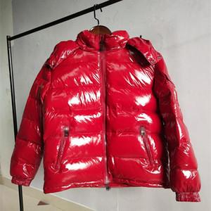 Femme Down Parkas Jacket à capuche épais manteau d'hiver chaud pour hommes vestes 2021 coréen vestes courtes femme mode de mode