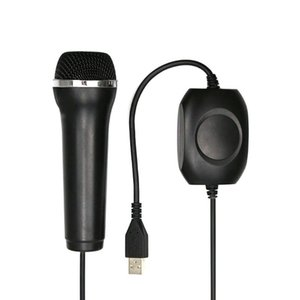 Microphone Wired USB Mic For Xbox360 Wii U Game Console For PS2 PS3 PC Console