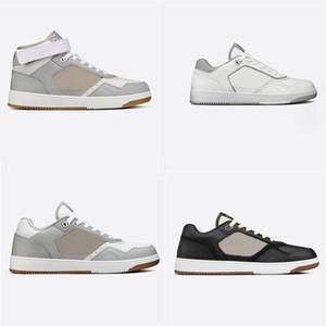 Мода B27 Calfskin Обувь Высокая низкосопрочная Коча 3D Отражающие Повседневные Обувь Мужчины Женщины Натуральные Кожаные Кроссовки Печать Тренеров Размер 35-45
