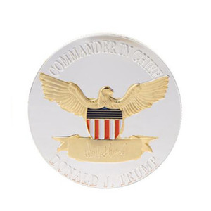 Donald Trump Coin American President Commemorative Coins Keep America Great Gold Silver Badge Election Supplies AAF2844