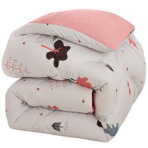 New winter quilt core thickened warm silk quilt four seasons universal winter cotton 10 kg 8 double 150x200cm1