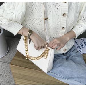HBP shoulder bag messenger bag handbag wallet new designer bag high quality texture fashion lattice chain crocodile pattern temperament
