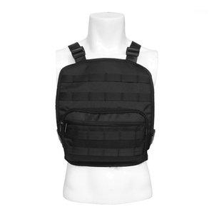 Наружные сумки Мужчины Тактический жилет Сумка сундук хип-хоп рюкзак регулируемый многофункциональный моллюской инструмент Pechne1