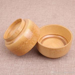 Eco Friendly Natural Baby Bamboo Bowl Baby Kids Anti Break Strong Bamboo Bowls Safety Tableware Noodles Rice Bowl