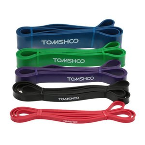 Tomshoo 208cm Workout Loop Band Pull Up Assist Band Stretch Resistence Powerlifting Bodyphulding Yoga Esercizio fitness