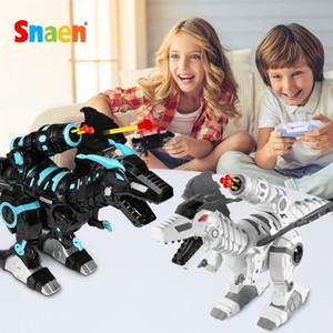 RC игрушка динозавр дистанционного управления животных робот с экскаваторами Электрические игрушки динозавров, ходьбы контролируемые игрушки для мальчиков подарок 201207