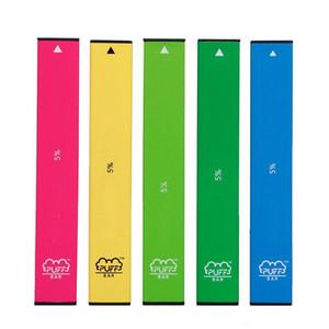 Устройство слоеных решеток Устройство 280MAH Аккумуляторная батарея 1.3ML Емкость Puffbar Vape Pen 20 Цветов Пустой картридж Vape Упаковка с кодом безопасности