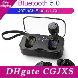 1 unids TI8S TWS Auricular Inalámbrico Bluetooth 5 .0 Auriculares Deportes manos libres Auriculares Juegos Auriculares Teléfono 500mAh Cargador Caja con MIC