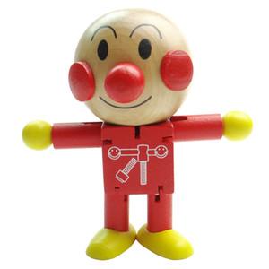 Baby Miúdos Miúdos Brinquedos Crianças Miúdos Brinquedos De Desenhos Animados Fantoche Mudável Moderno Minifigure Blocos Figuras Brinquedo de Imagem De Madeira