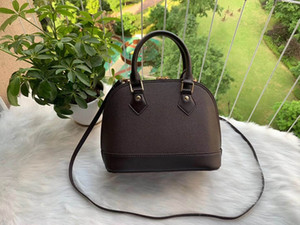 Женская сумочка ALMA BB Shell Bag Top Gander Cute Bag Damier Ebene Crossbody сумка патентная кожа женские сумки сумки на плечо M53152