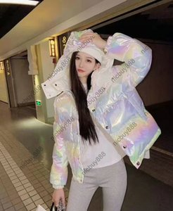 2021 designer brand womens 90 white goose down Parkas jacket winter outwear thick coat laser reflection clothing best quality