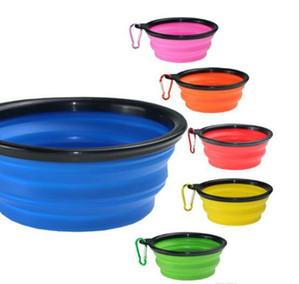 Cuenco plegable de Puppy Town Cepillable Sile Pet Dog Bowls Cat Feeding Bowl Water Plato Alimentador Siile Plegable 9 WMTPKM MYWJQQ