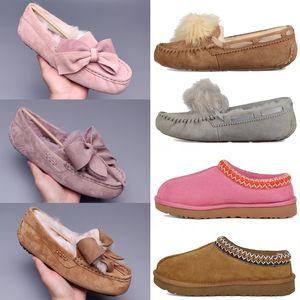 2021 Classic Pom Casual Schuhe kurz II Bailey Bow Australia Hausschuhe Womens Wildleder Frauen Boot Winter Schnee Stiefel Pelz Pelz Australier Bo 909n #