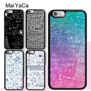 MaiYaCa Physics Math Formula Equation Case For iPhone 12 mini 11 Pro X XR XS Max SE 2020 6S 7 8 Plus 5S Back Cover Shell