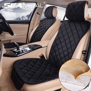 Cubiertas de asiento de coche maricial MAT Universal Cálido Peluche Automóviles Cubiertas de asientos Protector Automóviles Asientos Cojín Auto Accesorios Interior1