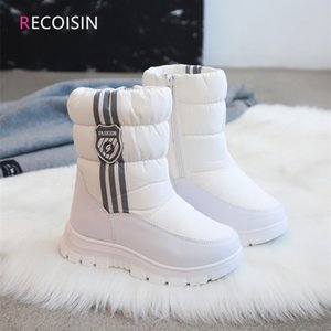 RECOISIN New Winter Kids Boots For Girls Comfortable Keep Warm Snow Boots Girls Children Boots Girls Shoes Chaussure Enfant 201020