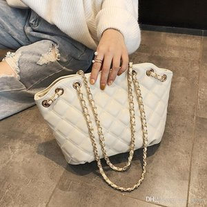 free cross brand chains quality Lattice bags chic big Handbag Bags Bags Shoulder desinger high Diamond big women Fashion shipping Hdqle