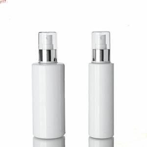 (30pcs) 150ml / 250 ml de bouteille de pulvérisation blanche vide d'argent aluminium anodisé en aluminium 250cc