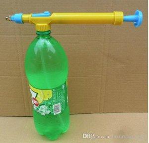In Toy Beverage Bottle Interface Plastic Trolley Guns Sprayer Testa Acqua Pressione Outdoor Funny Sports
