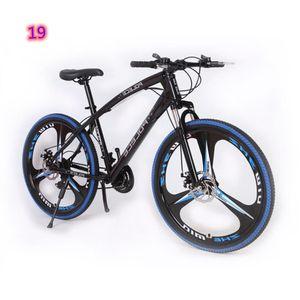Aluminiumlegierungsmaterial 24 Zoll 21speed Doppelscheibe Bremse Mountain Bicycle für Kinder Fabrikumsatz