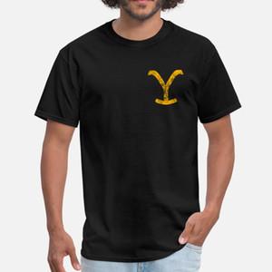 Yellowstone Dutton Ranch logo Y weathered T Shirt Classic Print Sportswear Tracksuit Hoodie Sweatshirt