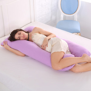 Pregnancy Pillow U Shaped Maternity Pillow with Washable Cotton Cover for Side Sleeping and Back Pain Relief C1002