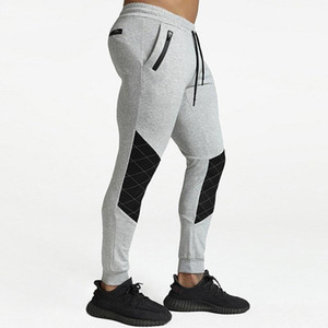 Men's Casual Sweatpants New Fashion Patchwork Drawstring Sportswear Fitness Outdoor Jogging Long Pants Pencil Trousers For Boys