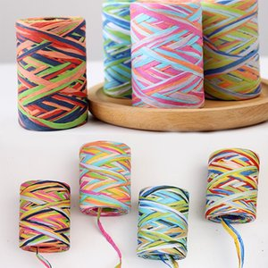 Colorful Shredded Crinkle Paper Raffia Candy Boxes DIY Gift Box Filling Material Tissue Party Gift Packaging Filler Decor yq02857
