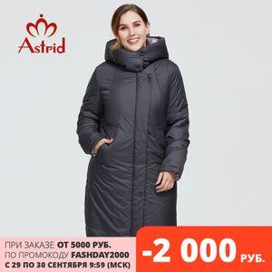 Astrid New Winter Women's coat women long warm parka fashion thick Jacket hooded Bio-Down large sizes female clothing 6703 200929