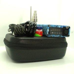 Quartz E nail Enail kits PID temperature controller electric dab nail box with coil heater 20mm Dnail Hot In USA