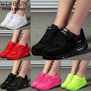 2021 Nuevo diseñador Coreano Plataforma blanca Zapatillas de deporte Zapatos Casuales Mujeres Moda Springtenis Feminino Mujer Calzado Cesta Femme # CI9D
