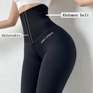 Pantaloni vendita calda Yoga Pants elastico Sport Leggings a vita alta collant a compressione Sport spinge verso l'alto Esecuzione Donne Gym Fitness Leggings
