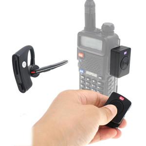 AC-Bherdt Wireless-Headset Bluetooth-Freisprecheinrichtung PPT Kopfhörer-Headset für Baofeng UV-82 UV-5R Two-Way-Radio