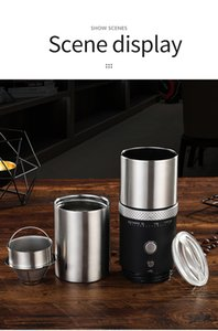 Portable Coffee Maker New Filter Coffee Machine Cup One-Botton Operation Household Office Outdoor Coffee Machine Cup Travel