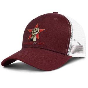 Ярость против машины Бургундия для мужчин и женщин Крышки Cap Ball Ball Styles Custom Personalized Hats