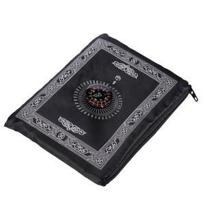 Alfombras de moda portátiles Manta de lana 210D Paño impermeable Tela Compás de la brújula Mantas de bolsillo MAT 4 4YQ J2