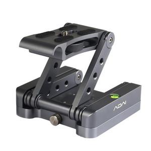 Pliable stabilisateur d'inclinaison Support caméra réglable Pour Type SLR Z Quick Release Photographie en alliage d'aluminium de trépied portable