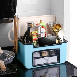 Приправа коробки Специи стойки бытовой кухня хранения MSG сахар соли банка