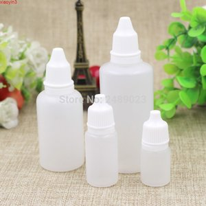 5ml 10ml 30ml 60 ml pequeñas botellas vacías Eye Medicine Liquid Dropper Clear Solf Cosmetic Botella para los ojos Cuidado 50pcs / Lothigh Quantlty