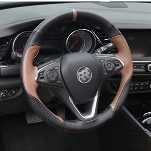 For Buick Regal special car hand-sewn steering wheel cover hand-sewn handle cover car supplies