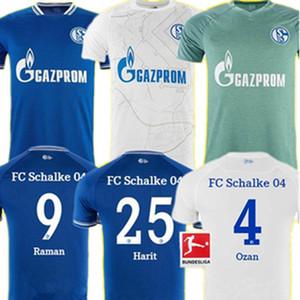 20 21 Men Schalke 04 Soccer Jerseys 2021 2020 الصفحة الرئيسية Ozan Serdar Harit Mc Kennie Raman Bentaleb Football Shirts Kutucu