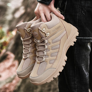Gli uomini antisdrucciolevoli escursione esterno che calza il formato 39-49 La vendita calda uomo scarpe da uomo selvaggio di viaggio comode scarpe casual scarpe da tennis degli uomini di Tenis