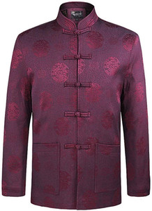 ZooBoo Tang Suit Kung Fu Jacket - Chinese Traditional Tai Chi Qi Gong Martial Arts Cloths Clothing Top