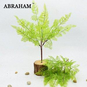 45 centimetri 7fork Falso plastica foglie di palma reale di tocco Bouquet pianta artificiale Branch False bonsai Fern Erba per la decorazione domestica uwXO #
