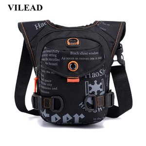 Vilead Waterproof Nylon Men Chest Bag Outdoor Camping Cycling Hiking Backpack Fashion Multi-functional Sports Travel Bag