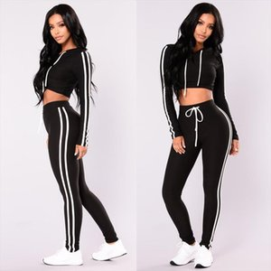 Brand New Women 2 pieces Set Tracksuit Hoodies Sweatshirt Pants Set Sport Lounge Wear Casual Sweat Suit