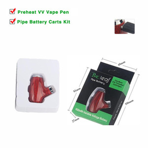 900 mAh Variable Voltage Vapor E Cig Mechanical Mod Battery E Pipe Micro USB Vaporizer Beleaf Kit