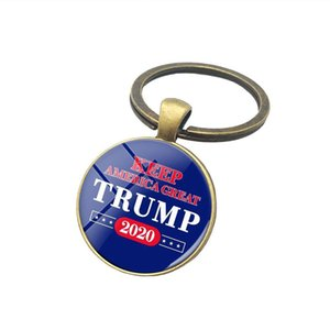 Keychain 2020 Election Supplies Accessories Time Gem Keychains Pendant Party Favor