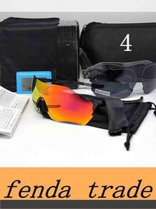 Brand Cycling Eyewear Men Fashion Polarized TR90 Sunglasses Outdoor Sport Glass Colorful with Package 3pcs Lenses High Quality